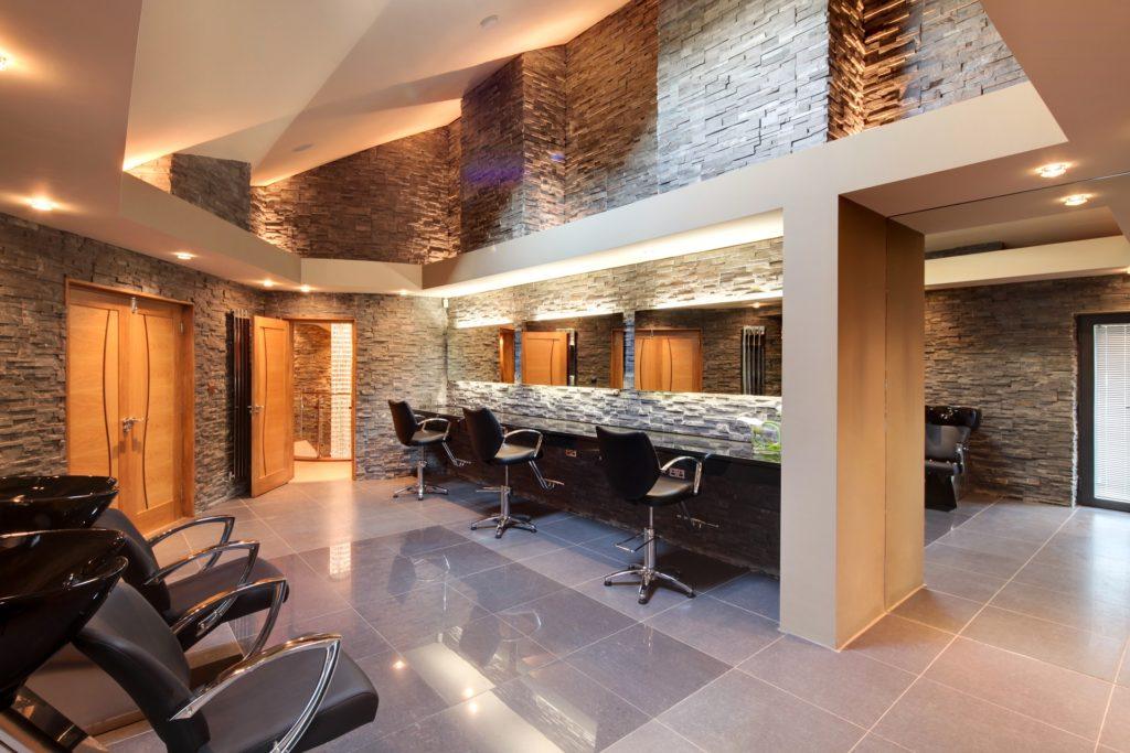 Home hairdressing studio. Hall Drive, Nottingham by Guy Phoenix