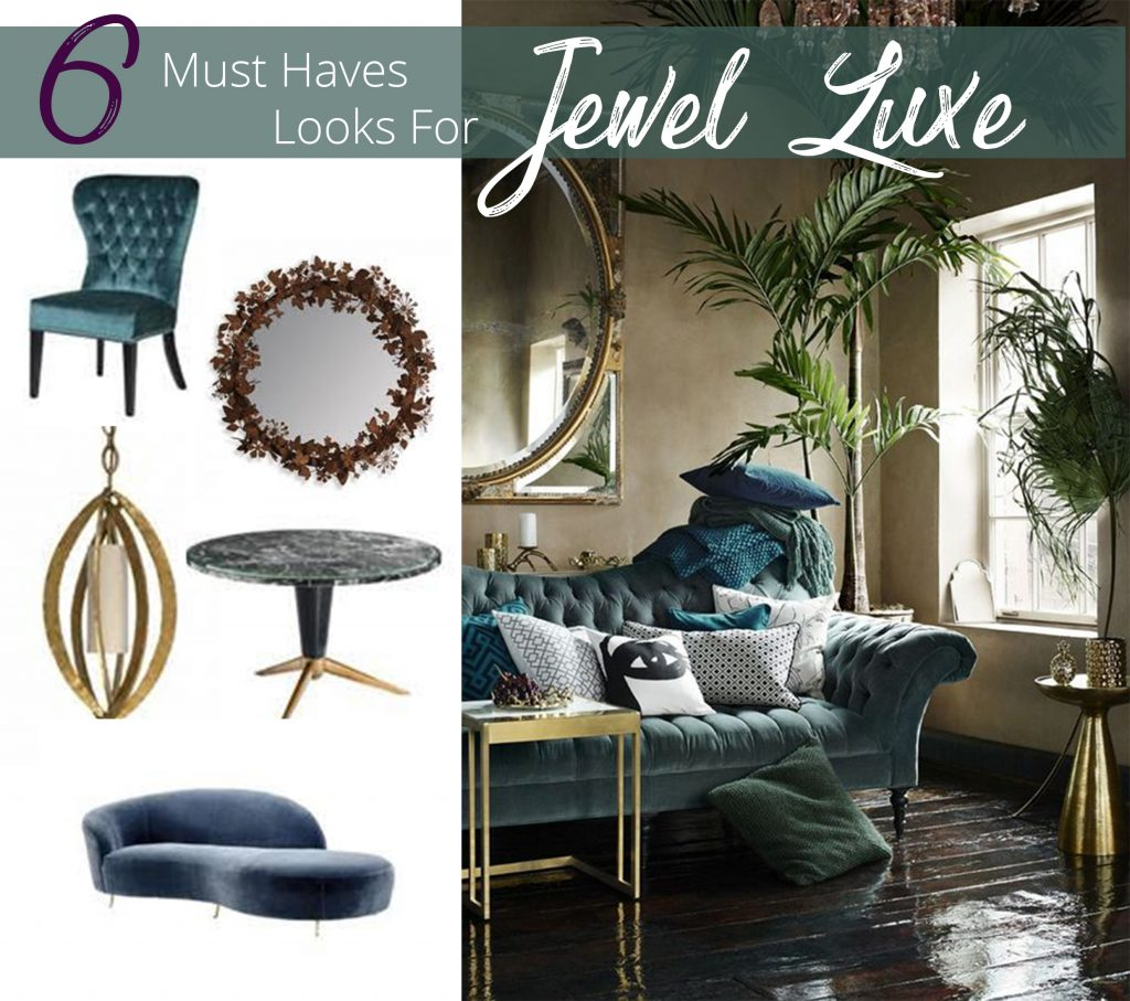 Jewel, Jewel Colours To Have in Your Home This Winter 2017