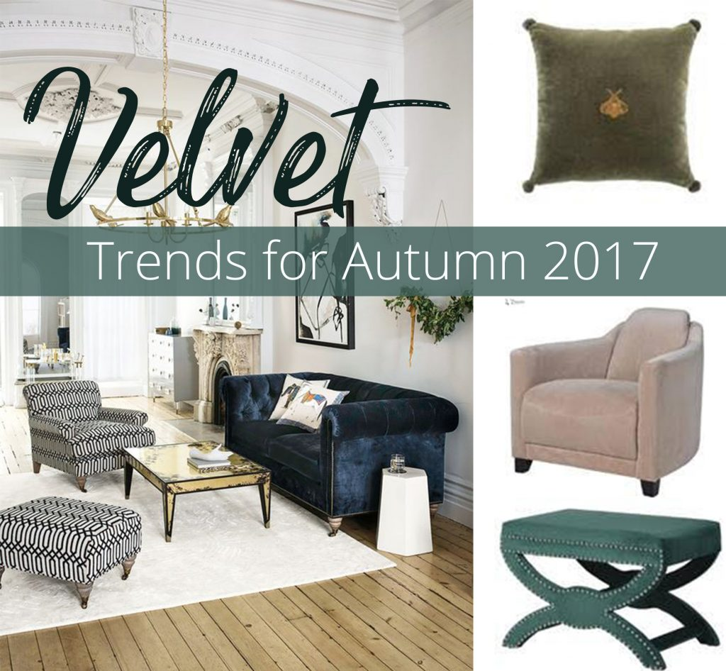velvet, Velvet Trends for Autumn / Winter 2017