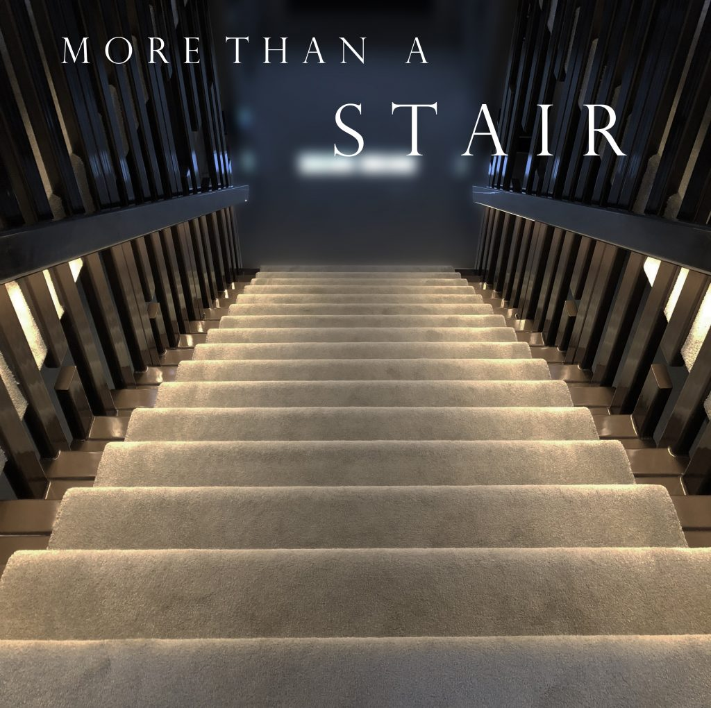 More than just a staircase.