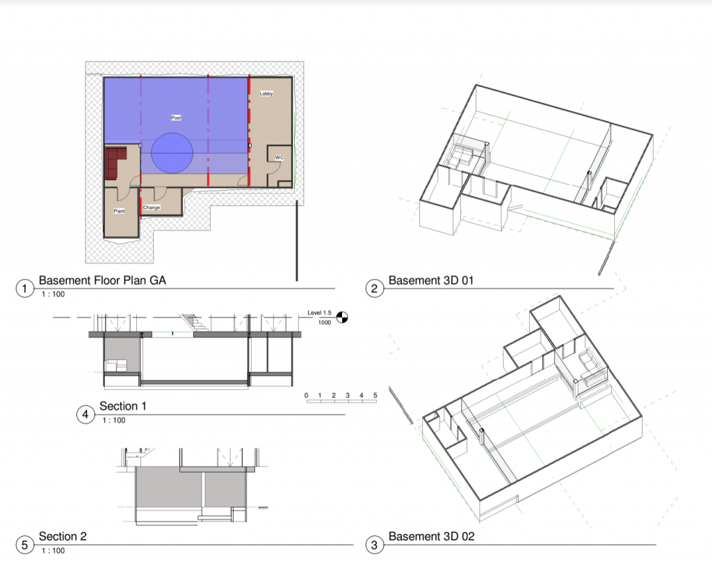 Hermitage Basement Floorplan
